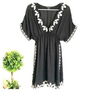 Forever 21 Embroidered Dress